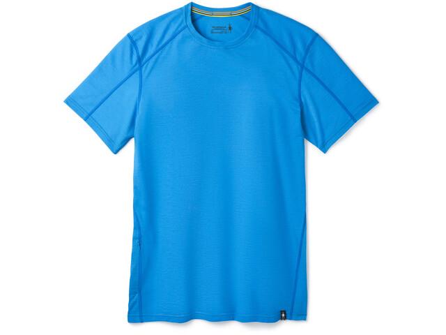 Smartwool Merino Sport 150 Hidden Camiseta Bolsillo Hombre, ocean blue